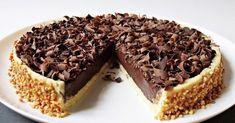 Luxusní čokoládový dort ala Panna cotta