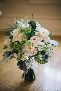 Green and blush bridal bouquet | Ivy & Tweed Photography | see more on: http://burnettsboards.com/2014/05/beauty-simplicity-spring-bridal-inspiration/ #bouquet