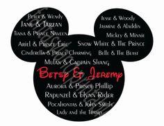 Disney Couples and you  for DIY Printable Iron Transfer family Disney trip  Wedding Magnet Shirt