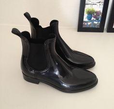 Ankle rubber boots for rainy days BUY THEM HERE > http://anywear.dk/product/gummist%C3%B8vler/blond-accessories/ankel-gummist%C3%B8vler