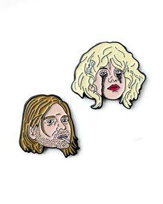 Kurt & Courtney Pin Set-Sad Truth Supply-Strange Ways