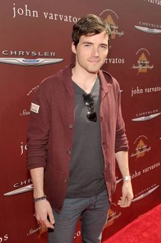 Ian Harding of Pretty Little Liars Looking Extremely Comfortable in Alex Maine