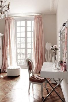 """Parisian """"Shabby"""" Chic...in Place de Vosges! See More at thefrenchinspiredroom.com"""