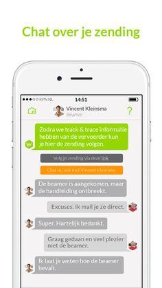 Verstuur een pakket alsof je een appje stuurt. En chat met de ontvanger. Wel zo persoonlijk! #wuunder #chat #pakketversturen #pakketontvangen