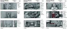 American Beauty storyboard