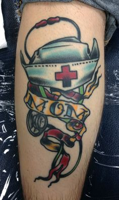 Nurse mom tattoo