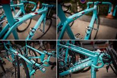 """Trek had som stunning blue Madones and Domanes (notice the anagram) painted up for the TdF. You can get it too. Check out their """"Project One..."""