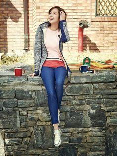 Park Min Young #streetstyle