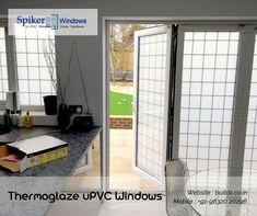 Thermoglaze uPVC Windows manufactured by the SpikerWindows keep out noise, dust, pollution, rain and saves big on energy expenses. Expertise installation services offered by our company surely give the hundred percent satisfaction to customers.