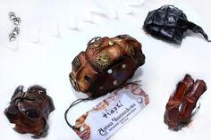 4lapki браслеты крокодил кожа ручная работа / crocodile leather cuff bracelet handmade