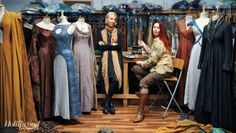 Michele Clapton and Michele Carragher with the amazing #GameofThrones costumes