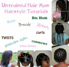 cute easy hairstyle tutorials for kids
