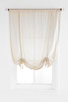 Draped Shade Curtain   #UrbanOutfitters