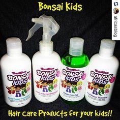 Bonsai Kids Hair Care Giveaway