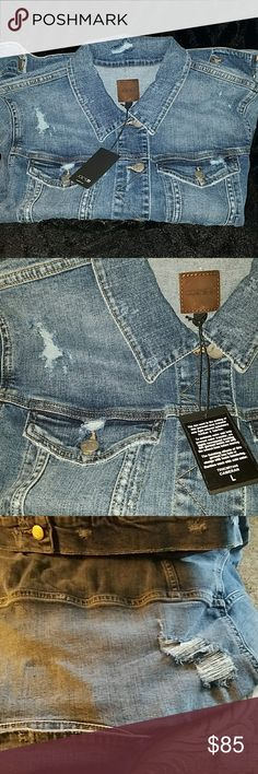 Joe's Jeans Women's Cameron Easy Fit Denim Jacket Joe's Jeans Women's Cameron Easy Fit Denim Jacket, nwt, size Large. Denim is in season for spring/summer 2018 fashion. Be on trend with this amazingly destructed denim jacket. True to Joe's jeans brand the denim is soft and comfortable. This jacket is sure to last for years to come! Price is non negotiable. Joe's Jeans Jackets & Coats Jean Jackets