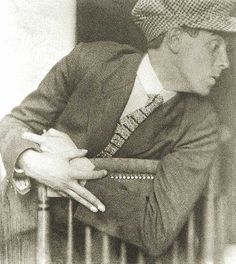 Egon Schiele by Anton Josef Trčka (1914).