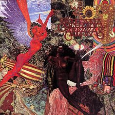 "Abraxas, Santana - ""Black Magic Woman,"" the Top Five hit from Abraxas, is definitive Santana: Afro-Latin grooves and piercing lyrical psychedelic blues guitar. It was a cover of a Fleetwood Mac song written by one of Carlos Santana's guitar heroes, Peter Green. The album's other hit was also a cover: Tito Puente's ""Oye Como Va."""