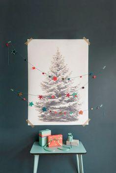 Poppytalk: Holiday Decor Inspiration / Shining Stars / Homes  on imgfave