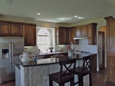First texas model home pictures