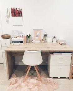 Trendy Home Office Decor Professional 28 Ideas Modern Home Offices, Modern Office Decor, Home Office Design, Home Office Decor, Home Decor, Office Designs, Home Office Inspiration, Room Inspiration, Office Ideas