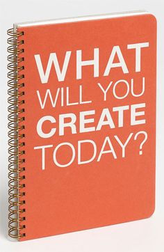 ''what will you create today?''