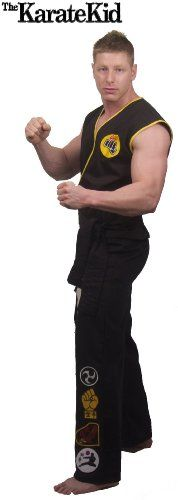 The Karate Kid Cobra Kai Replica Plus Size Costume - Click image twice for more info - See a larger selection of kids halloween costume at http://costumeriver.com/product-category/kids-halloween-costumes/ -  holiday costume , event costume , halloween costume, cosplay costume, classic costume, scary costume, super heroes costume, classic costume, clothing