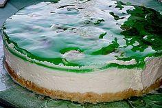 Philadelphia Torte Banane - Waldmeister (Rezept mit Bild)   Chefkoch.de