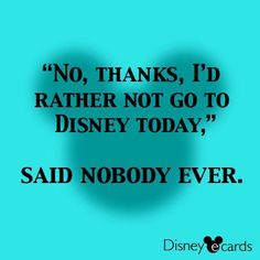 Hahaha! If it were p to me I would be at Disneyland every single day of my life!