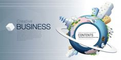 fashion concept of environmental protection global business background design vector 2
