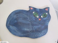 MORRIS AND JAMES - CAT WALL PLAQUE | Trade Me