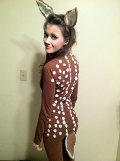 A better shot of most of my fawn costume :)