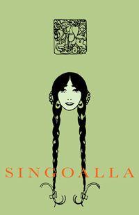 Singoalla. Omslaget är en replika av Carl Larssons omslag till 1904 års storformatsutgåva. Larsson illustrerade även boken.