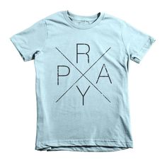 This is the kids' version of American Apparel's most popular adult t-shirt. It features durable ribbed neckband and a double-needle bottom hem and sleeves. • 100% jersey cotton • Durable ribbed neckba