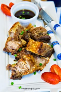 Apron and Sneakers - Cooking & Traveling in Italy and Beyond: Crispy Pork Belly with Miso - Sesame Sauce