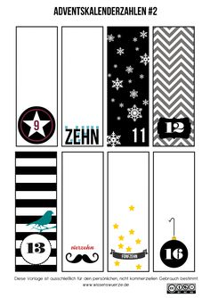 advent calendar numbers part 2