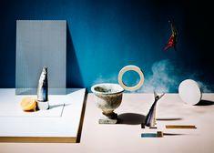 Creative Still Life Photography with Shuntaro & Keiko Hudson Makeup Drop, Prop Styling, Creative Portraits, Still Life Photography, Be Still, Art Direction, Set Design, Furniture, Graphic Design