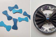Bow tie barnedåb - Hanukkah, Butterfly, Bows, Wreaths, Tie, Decor, Dekoration, Arches, Decoration