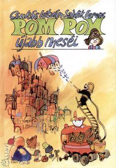 Pom Pom - Sajdik Ferenc Retro 1, Hungary, Folk Art, Traditional, Cartoon, Comics, History, Homeland, Budapest