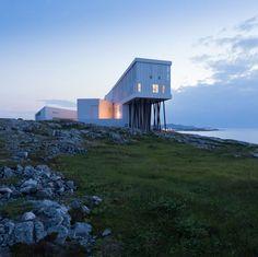 Fogo Island Inn .   Newfoundland .... CANADA ......by Saunders Architecture