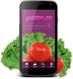 instaleaza aplicatia Gustos.ro