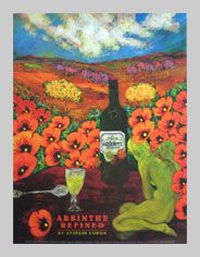 St. Augustine Art Gallery | Absinthe Posters | Absente Posters | Absolute Americana Art Gallery