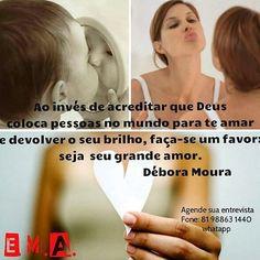 """seja seu grande amor""  Débora Moura (@debora.professora.danca)"