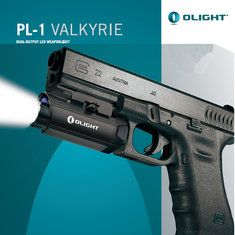 THE OLIGHT PL-1 VALKYRIE WITH 400 LUMENS. THIS IS ONE SWEET RAIL LIGHT. http://www.banggood.com/Olight-PL-1-Valkyrie-XP-L-400LM-LED-Weapon-Light-For-Hunting-Searching-p-1004303.html?p=UD02118312398201701E