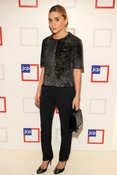 The very classy Ashley Olsen.