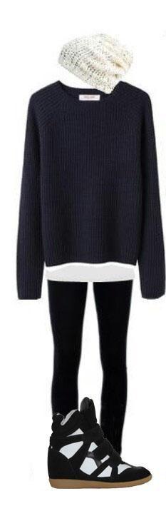 Isabel Marant Beckett Wedge Suede Sneaker Black White   #isabelmarantsneakers2013