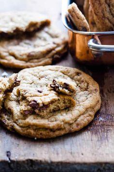 Cardamom Chocolate Chip Cookies • Salted Mint