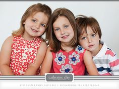 children photography, studio pictures, studio what to wear ideas, sibling pictures // Dallas photographer Catherine Clay