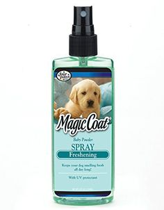 Four Paws Magic Coat Puppy Dog Grooming Freshening Spray, 4oz - http://www.thepuppy.org/four-paws-magic-coat-puppy-dog-grooming-freshening-spray-4oz/