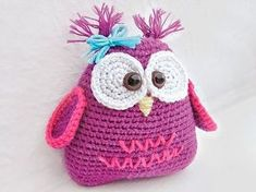 Tutoriel DIY: Crocheter un doudou hibou via DaWanda.com