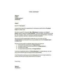 Example Of A Sponsorship Proposal Write A Letter Requesting Sponsorship